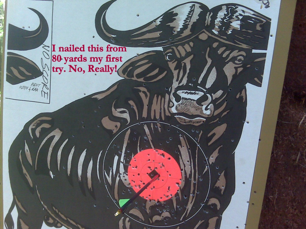 1 shot from 80 yards! YT