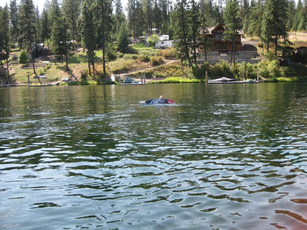8-17-10 Wakeboarding on Lake Coeur d'Alene, ID 017