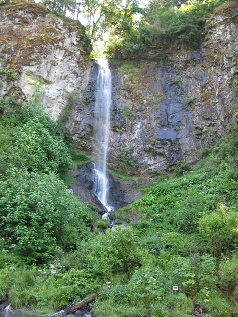 waterfall at kalama river 6-15-12