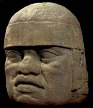 Olmec six feet high found in jungle