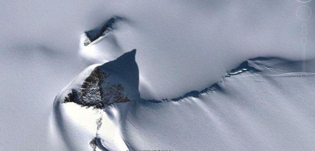 antarctica pyramid google earth
