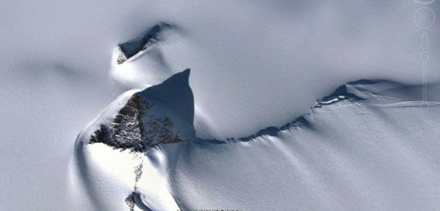 antarctica pyramid google earth